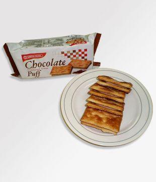 24 pkt x 75 gm Chocolate Flavoured Cream Puff