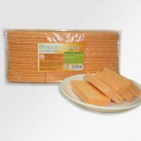 24 pkt x 250 gm Orange Flavoured Cream Wafer