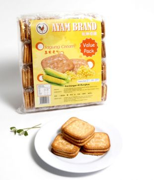 3pcs x 40pkts x 12bags Jagung Cream (Ayam Brand)