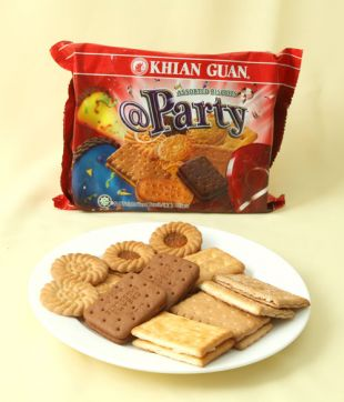 12 x 225 gm @ Party Assorted Biscuit
