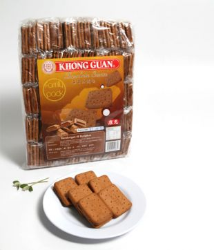 20gm x 40 pkt Chocolate Cream (Khong Guan)