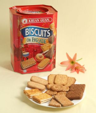 6 x 800 gm Biscuit On Parade Assorted Biscuit