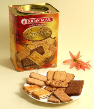 6 x 800 gm Great Time Assorted Biscuit
