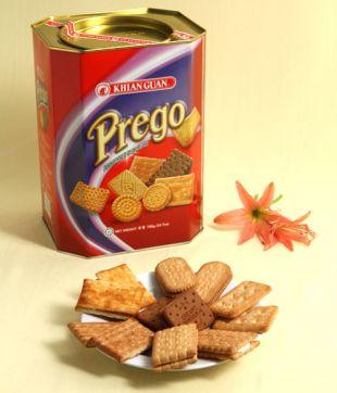 6 x 700 gm Prego Assorted Biscuit