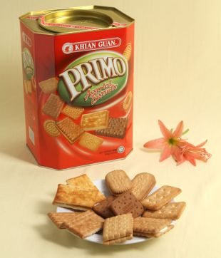 6 x 700 gm Primo Assorted Biscuit