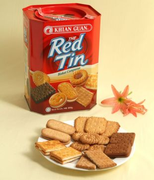6 x 800 gm The Red Tin Assortment
