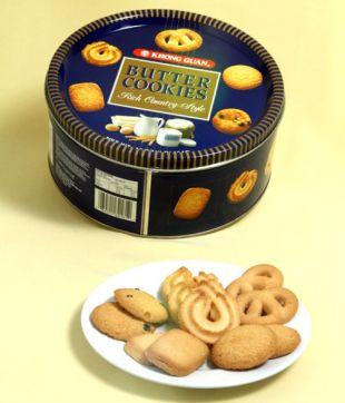 12 x 454 gm Danish Butter Cookies