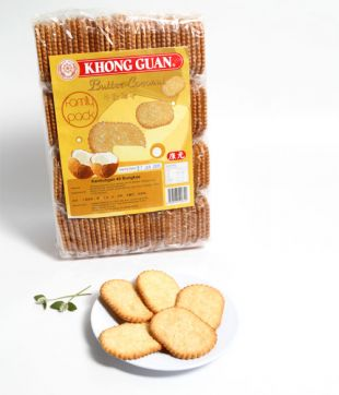 20gm x 40 pkt Butter Coconut (Khong Guan)