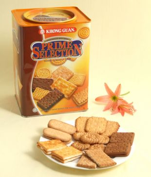 6 x 800 gm Prime Selection Assorted Biscuit