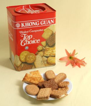 6 x 1.2 KG Top Choice Assorted Biscuit