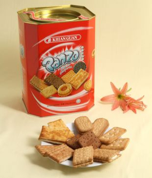 6 x 700 gm Panzo Assorted Biscuit