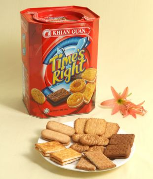 6 x 800 gm Time's Right Assorted Biscuit