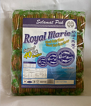 12 X 40 pkts Royal Marie (Chung Ying Brand)