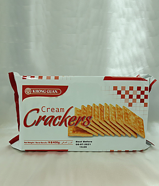 12 X 400gm Cream Cracker
