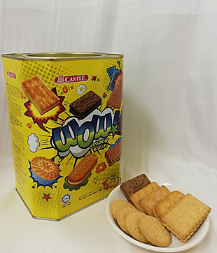 6 X 600gm Wow Assorted Biscuit ( Castle Brand )